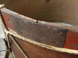 Iron Repair on Bass Drum Hoop